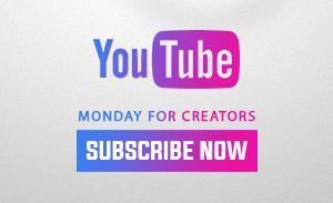 Monday for Creators Social Media Influencer Marketing