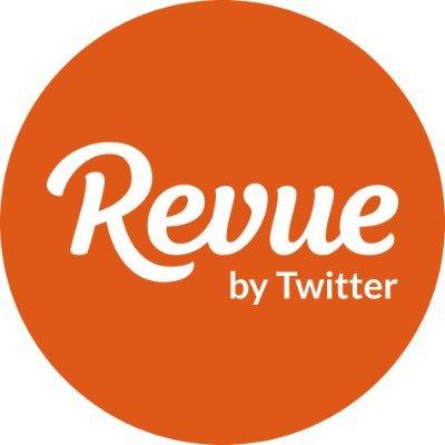 Revue by Twitter logo