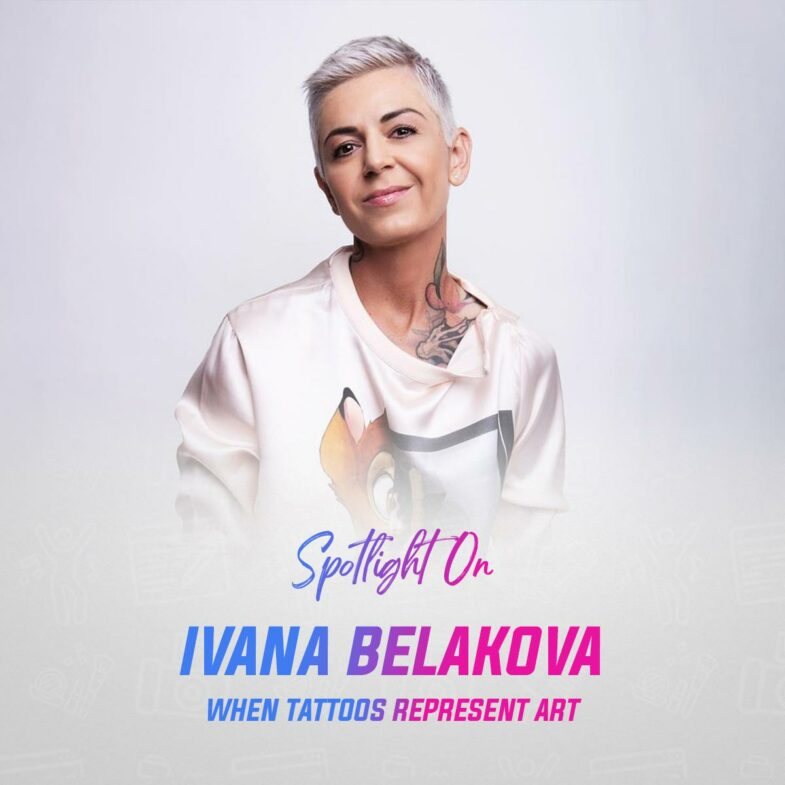 Spotlight on Ivana Belakova: When Tattoo Means Art