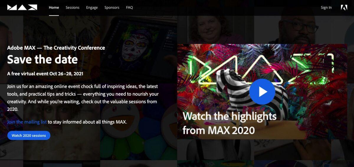 Adobe Max 2021 scaled