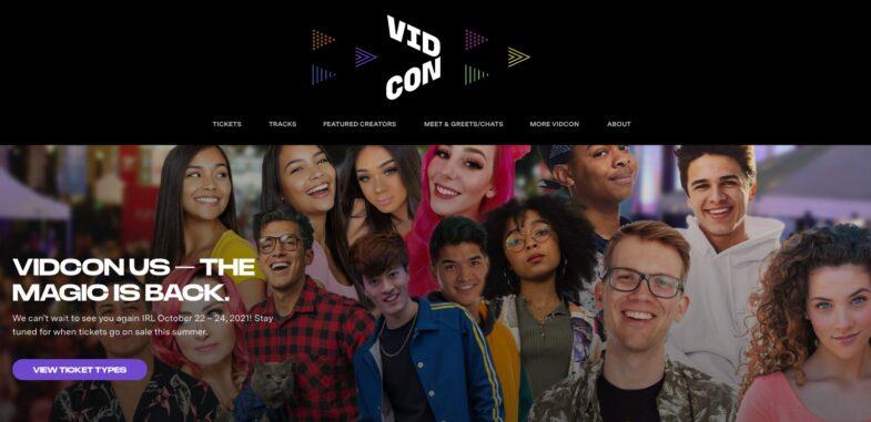 VidCon US 2021