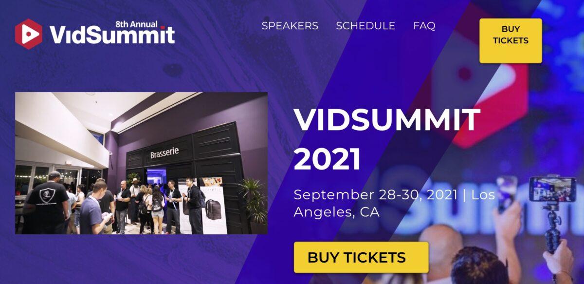 VidSummit Los Angeles 2021